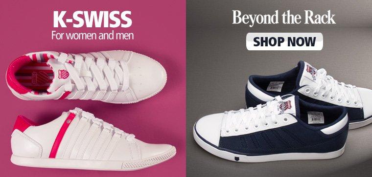 K-Swiss Footwear for men and women