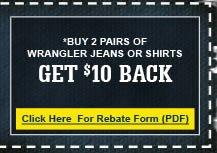 Everything Wrangler Rebate Form