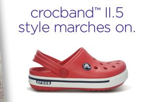 crocband™ II.5 style marches on.