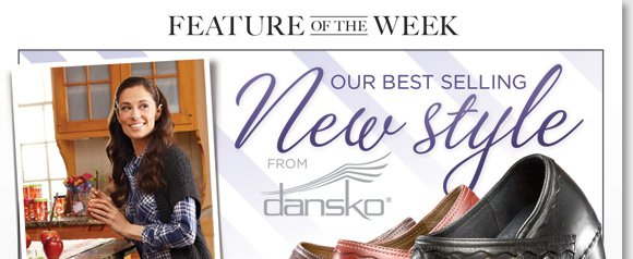 Feature of the Week: Enjoy FREE 2nd Day Shipping* on the stylish Dansko Harlow, our best-selling new style! Featuring intricate scalloped design details and  luxurious leathers, the 'Harlow' is the perfect wardrobe addition for the fall season ahead. Shop now to find the best selection of your favorite Dansko styles at The Walking Company.