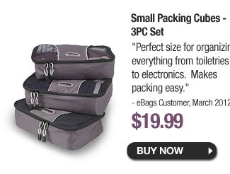 Small Packing Cubes - 3PC Set - Buy Now