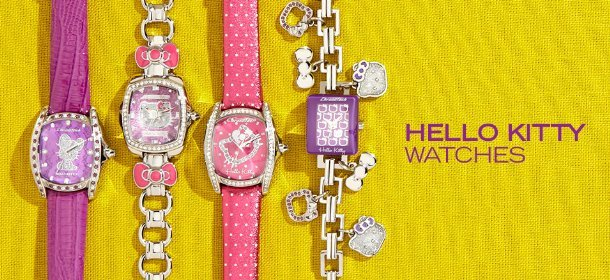 HELLO KITTY WATCHES, Event Ends August 3, 9:00 AM PT >