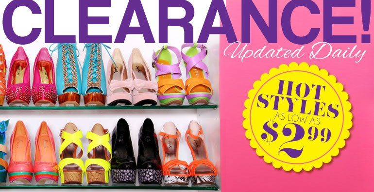 Brand New Clearance Items Updated Daily