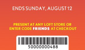 ENDS SUNDAY, AUGUST 