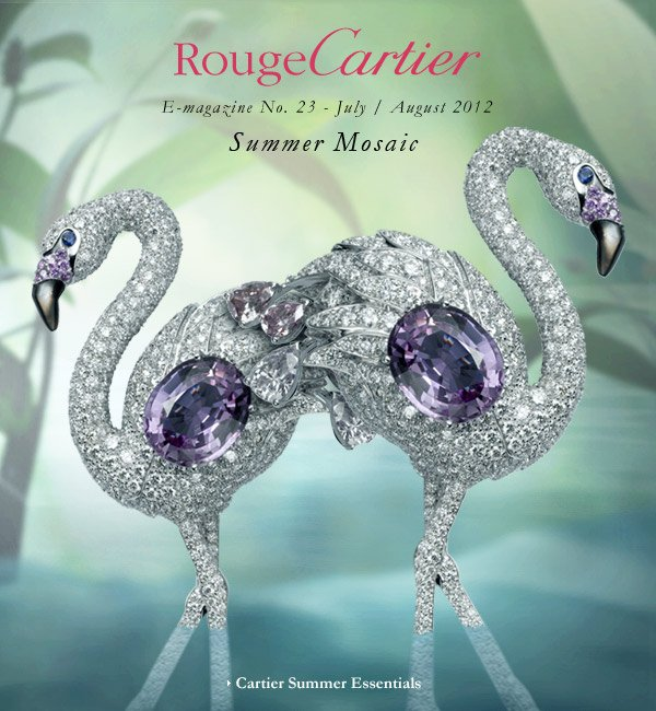 RougeCartier - E-magazine No. 23 - July/August 2012 - Summer Mosaic