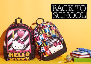 Back to School: Hello Kitty Backpacks