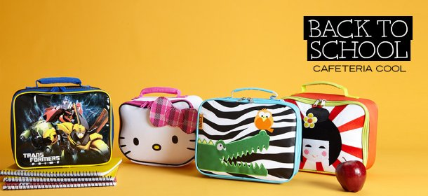BACK TO SCHOOL: CAFETERIA COOL, Event Ends August 9, 9:00 AM PT >