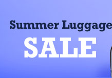 Shop Summer Luggage Sale