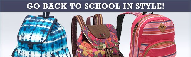 Great for Traveling in Style or Back-to-School!