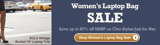 Shop Women's Laptop Bag Sale