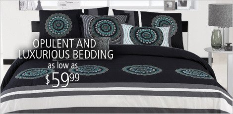 Opulent & Luxurious Bedding