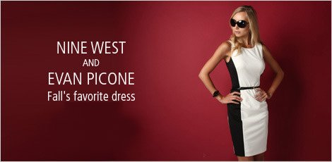 Nine West and Evan Picone: Fall's Favorite Dresses