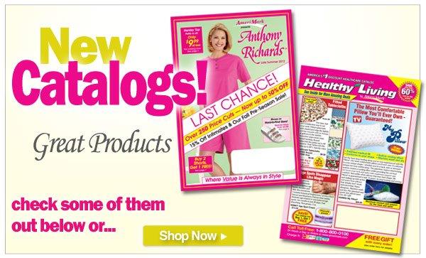 Feature: Catalog Announcement! - Shop All