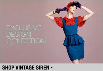 Exclusive Design Collection: Vintage Siren - Shop Now