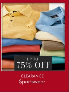 UP TO 75% OFF Clearance Sportswear