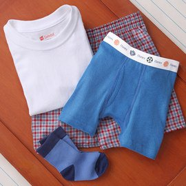 Back to Basics: Boys' Underclothes