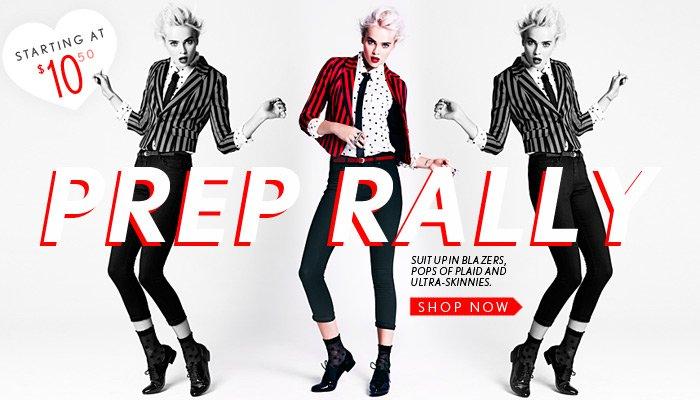 New Fall Blazers & Ultra-Skinny Denim - Shop Now
