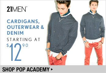 21MEN Pop Academy Starting at $12.90 - Shop Now