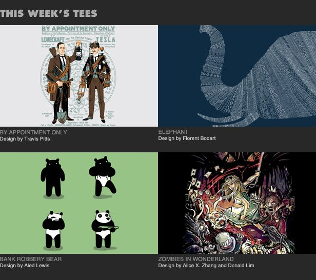 This Week's Tees
