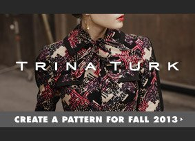 Create a pattern for Fall 2013