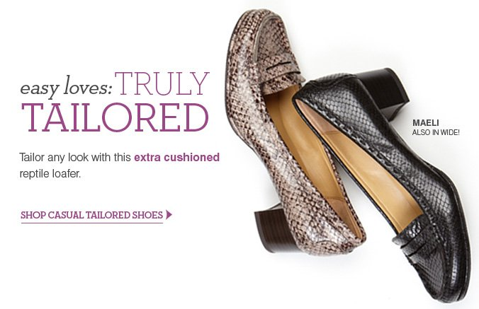 Click here to shop Casual Tailored Shoes