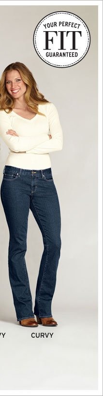 Shop Curvy Fit Jeans
