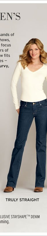 Shop Truly Straight Fit Jeans
