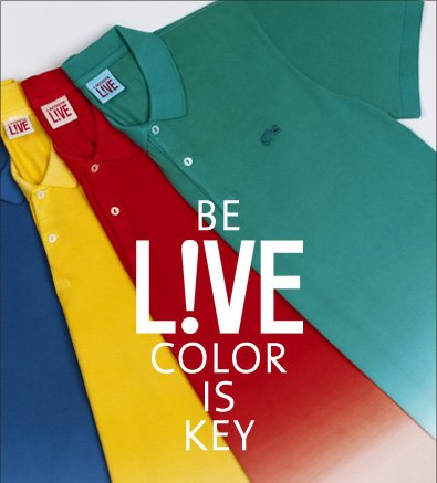 BE LIVE COLOR IS KEY