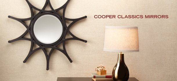 COOPER CLASSICS MIRRORS, Event Ends August 1, 9:00 AM PT >