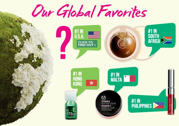 Our Global Favorites