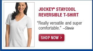 Jockey staycool reversible t-shirt
