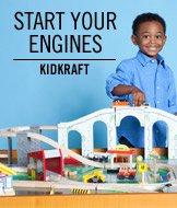 Start Your Engines. KidKraft.