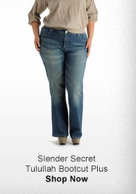 SLENDER SECRET TULULLAH BOOTCUT PLUS >