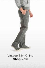 VINTAGE SLIM CHINO >