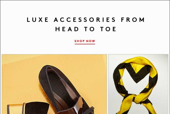 MARNI: LUXE ACCESSORIES FROM HEAD TO TOE. SHOP NOW!