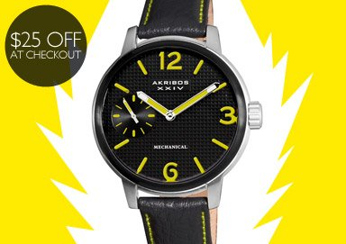 Shop Watches: Get $25 Off