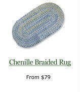 Chenille Braided Rug, from $79