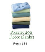 Polartec 200 Fleece Blanket, from $64