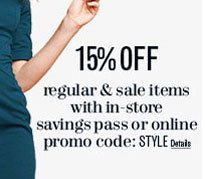 Online Promo Code: STYLE