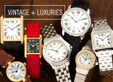 From the Reserve: Cartier Watches