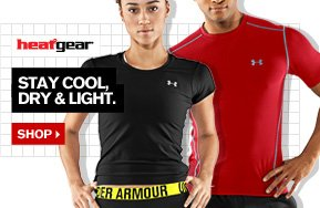 UA HEATGEAR® - STAY COOL, DRY & LIGHT. SHOP.