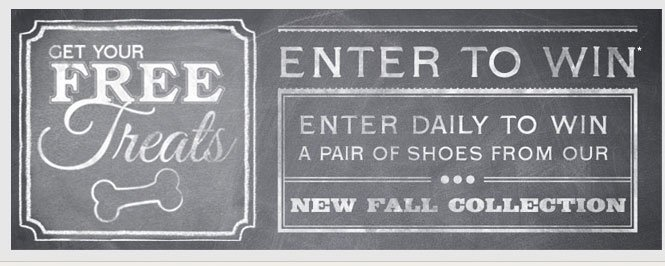 Enter to Win a Pair of Shoes from Our New Fall Collection