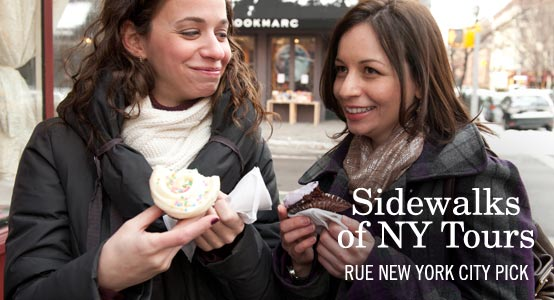 Sidewalks of NY Tours: Rue New York City Pick