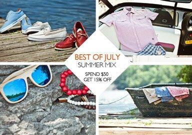 Shop Best of July: Summer Mix