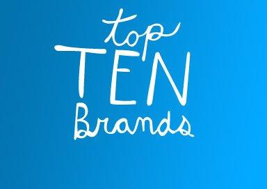 Shop Top Ten Brands