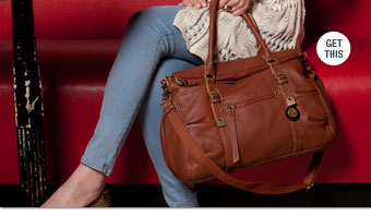 The Sak Reggio Leather Satchel