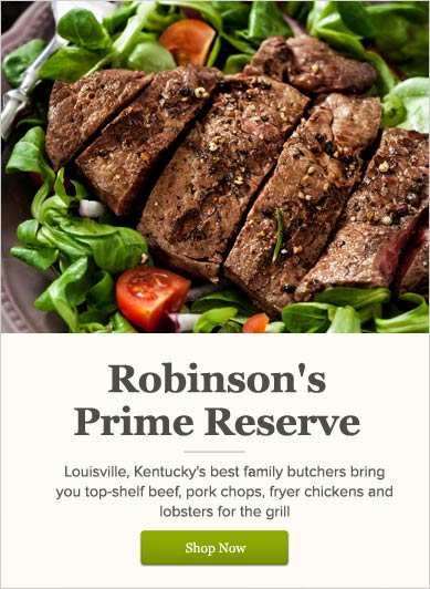 Robinson's Prime Reserve - Shop Now