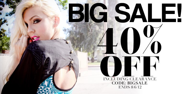 Get 40% Off everything at  AMI!