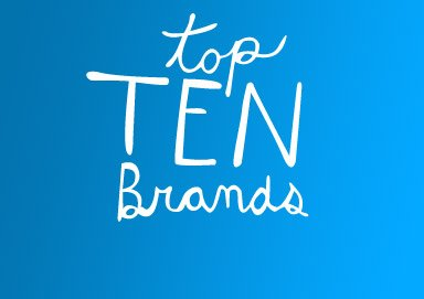 Shop Top Ten Brands