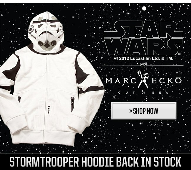 Stormtrooper Hoodies back in stock